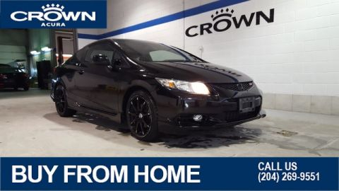 Pre-Owned 2013 Honda Civic Cpe SI Coupe **6 Speed Manual** **Navigation**