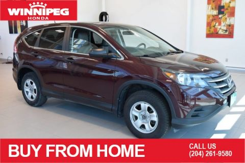 Pre-Owned 2014 Honda CR-V LX / AWD / Bluetooth / Rear view camera / One touch folding rear seats
