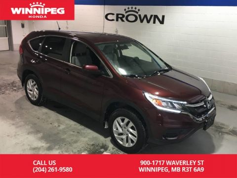 Pre-Owned 2015 Honda CR-V AWD/SE/Bluetooth/Heated seats/Rear view camera