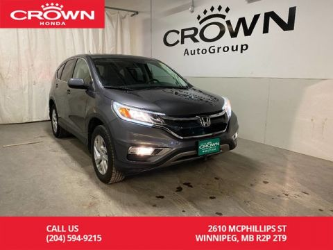 Crown Honda Mcphillips >> Used Honda CR-V | Winnipeg Honda