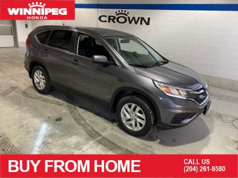 Certified Pre-Owned 2015 Honda CR-V SE / Certified / Bluetooth / 7 year warranty / AWD
