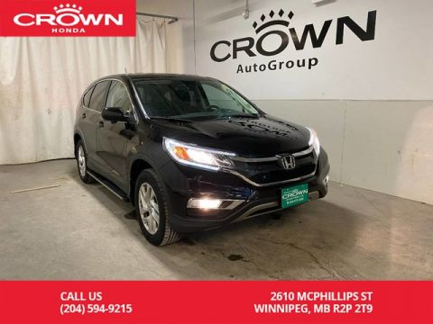 Pre-Owned 2016 Honda CR-V AWD 5dr EX/ ONE OWNER/ LOW KMS/ BACKUP CAMERA/ SUNROOF/ BLUETOOTH/ HEATED FRONT SEATS