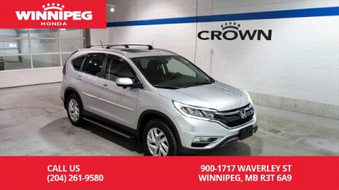 Certified Pre-Owned 2016 Honda CR-V EX/Certified/Bluetooth/Heated seats/Rear view camera/Lane watch