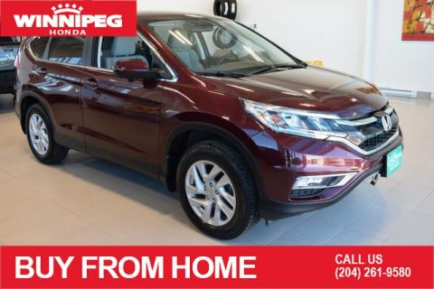 Certified Pre-Owned 2016 Honda CR-V EX / AWD / Sunroof / Heated seats / Rear view camera / Lane watc