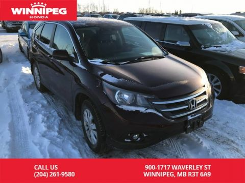 Pre-Owned 2014 Honda CR-V AWD/EX/One owner/Lease return/Low KM