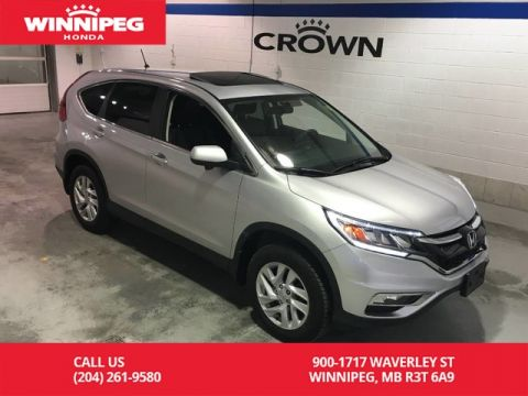 Pre-Owned 2016 Honda CR-V AWD/EX/Sunroof/Heated seats/Bluetooth/Power seat