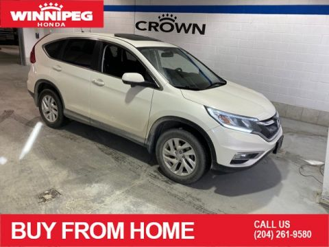 Pre-Owned 2016 Honda CR-V EX / Sunroof / Rear view camera / Heated seats / One owner