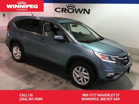 Pre-Owned 2016 Honda CR-V Certified/EX/Low KM/Bluetooth/Heated seats/Sunroof/Rear view cam
