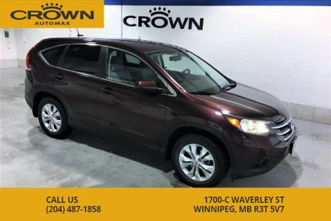 Pre-Owned 2014 Honda CR-V EX-L AWD **Heated Leather** Sunroof**
