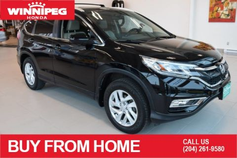 Pre-Owned 2015 Honda CR-V EX-L / AWD / Leather / Bluetooth / Heated seats / Sunroof