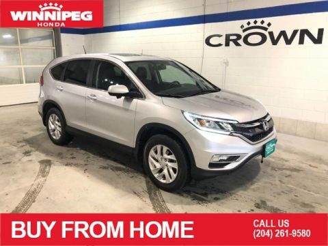 Pre-Owned 2016 Honda CR-V EX-L / Bluetooth / Push button start / Heated seats / Lane watch camera