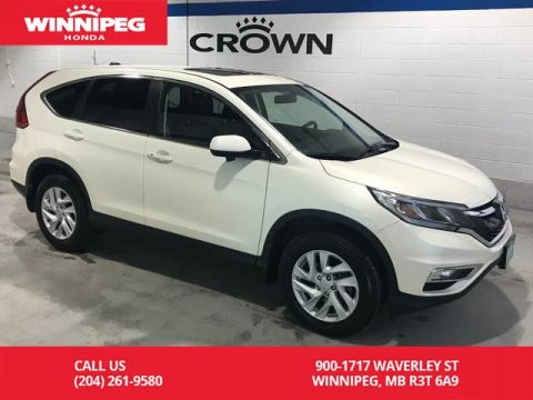 Pre-Owned 2016 Honda CR-V EX-L/AWD/Lease return/Bluetooth/Leather/Sunroof