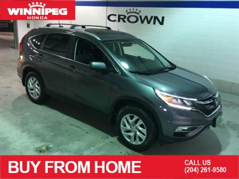 Pre-Owned 2016 Honda CR-V EX-L / Sunroof / Leather / Heated seats / Rear view camera