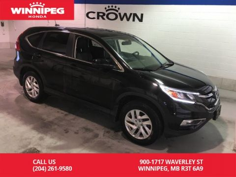 Pre-Owned 2015 Honda CR-V EX-L/Bluetooth/Leather/Sunroof/Heated seats/Bluetooth