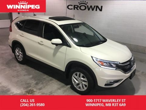 Pre-Owned 2016 Honda CR-V EX-L/Sunroof/Leather/Push button start/Bluetooth/Heated seats