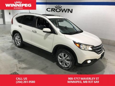 Pre-Owned 2014 Honda CR-V AWD/Touring/One owner/Lease return