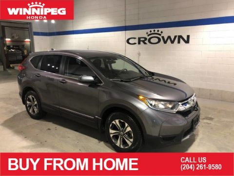 Certified Pre-Owned 2017 Honda CR-V LX / Certified / Rear view camera / Heated seats / 7 year PT warranty