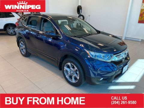 Certified Pre-Owned 2017 Honda CR-V Certified / EX / AWD / Bluetooth / Heated seats / 7 year 160,000