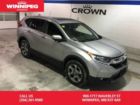 Certified Pre-Owned 2017 Honda CR-V Certified/EX/Sunroof/Apple car play/Heated seats