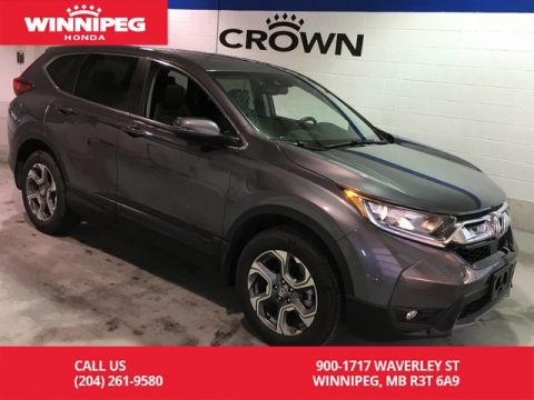 Pre-Owned 2019 Honda CR-V EX-L/Bluetooth/Sunroof/Power tailgate/Leather
