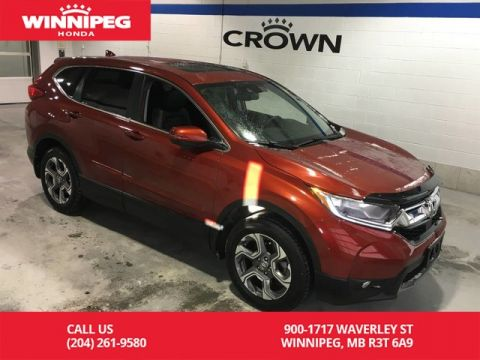 Pre-Owned 2017 Honda CR-V EX-L/Leather/Power hatch/Heated steering wheel/Remote start