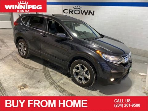 Pre-Owned 2018 Honda CR-V EX-L / Bluetooth / Sunroof / Leather / Heated steering wheel / Heated seats