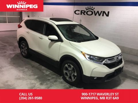 Pre-Owned 2018 Honda CR-V EX-L/Certified/Sunroof/Heated seats/Power tailgate/Bluetooth