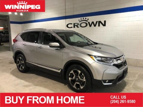 Certified Pre-Owned 2018 Honda CR-V Touring / Certified / Navigation / Remote start / Heated steering wheel