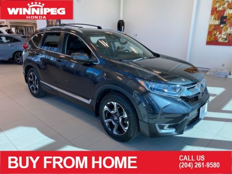 Certified Pre-Owned 2018 Honda CR-V Touring / Ceritified / Bluetooth / Navigation / Heated steering wheel