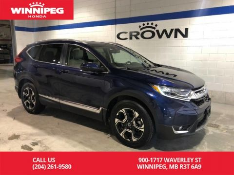 Certified Pre-Owned 2017 Honda CR-V Certified / Touring / Navigation / Rear cross traffic alert / 7 year PT warranty