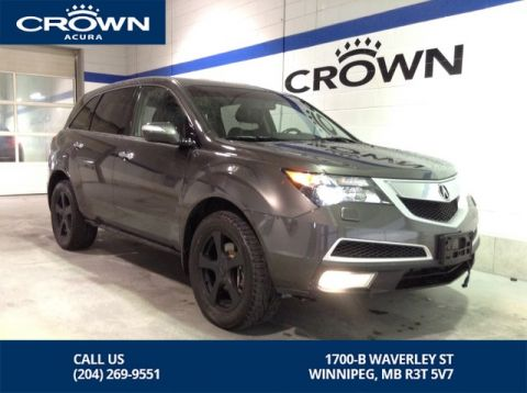 Pre-Owned 2012 Acura MDX Tech AWD ** Low Kms ** DVD Player **