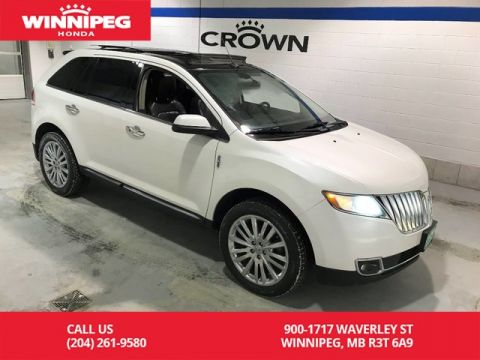 Pre-Owned 2011 Lincoln MKX AWD/Low KM/Loaded/Navigation/Panoramic roof