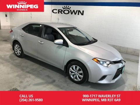 Pre-Owned 2016 Toyota Corolla LE/One owner/Low KM/heated seats/Bluetooth/Rear view camera