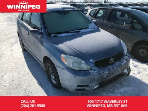 Pre-Owned 2004 Toyota Matrix 5dr Wgn Manual