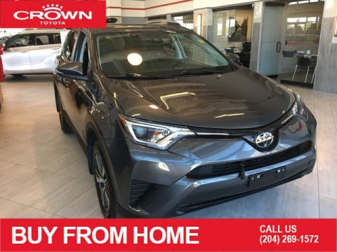 Certified Pre-Owned 2018 Toyota RAV4 Crown Original | One Owner | AWD LE