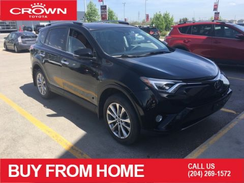 Pre-Owned 2017 Toyota RAV4 Local Trade | AWD | Limited