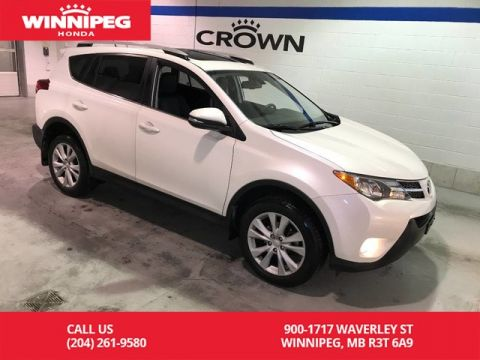 Pre-Owned 2015 Toyota RAV4 Limited/Bluetooth/Power tailgate/Blind spot monitoring/Parking s