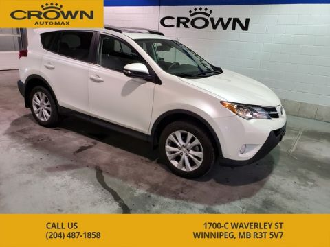 Pre-Owned 2015 Toyota RAV4 AWD Limited ** Local Manitoba Vehicle**