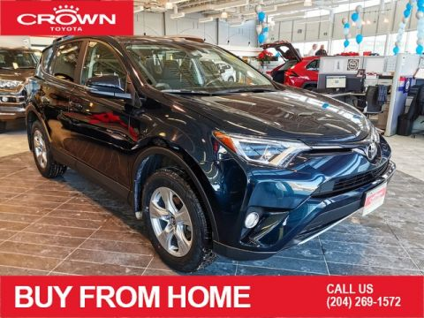 Certified Pre-Owned 2017 Toyota RAV4 XLE / CROWN ORIGINAL / CERTIFIED