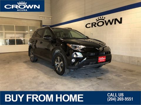 Pre-Owned 2017 Toyota RAV4 XLE AWD **Low Kms** Sunroof** **Crown Original**