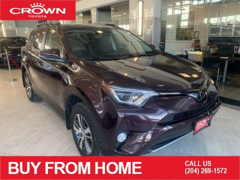 Certified Pre-Owned 2017 Toyota RAV4 Crown Original | One Owner | AWD | XLE | Certified