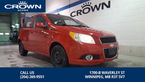 Pre-Owned 2010 Chevrolet Aveo LT ** Sunroof** Low Kms **