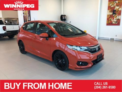 Certified Pre-Owned 2018 Honda Fit Sport / Heated seats / Rear view camera / Magic seats