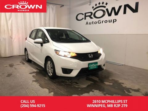 Pre-Owned 2016 Honda Fit 5dr HB CVT LX/ ONE OWNER/ LOW KMS/ BLUETOOTH