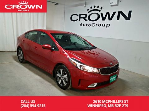 Pre-Owned 2018 Kia Forte LX+/one owner/accident-free history/ low kms/ back up camera/ heated seats