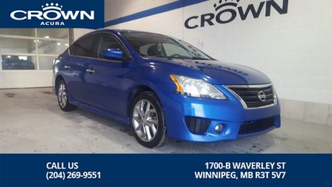 Pre-Owned 2013 Nissan Sentra SR **Sport Appearance Package** Sunroof** Backup Camera**