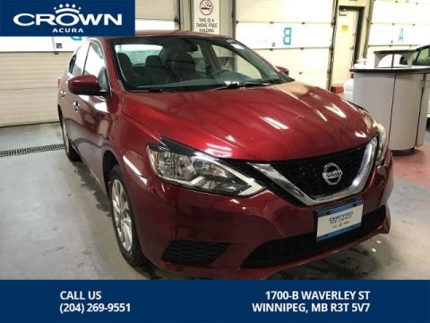 Pre-Owned 2016 Nissan Sentra SV ** Heated Seats** Backup Camera**