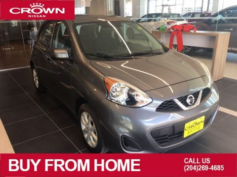 Pre-Owned 2019 Nissan Micra SV *Super Low Km/One Owner/No accidents*