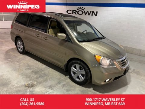 Pre-Owned 2010 Honda Odyssey Touring w/RES & Navi/Leather/Power sliding doors
