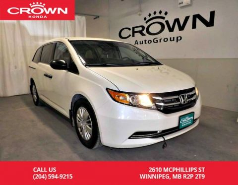 Pre-Owned 2017 Honda Odyssey LX/***24th ANNUAL VICTORIA DAY SALE***/ACCIDENT-FREE HISTORY/ ONE OWNER/LOW KMS